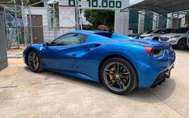 Dân chơi Bình Phước tậu Ferrari 488 Spider Blu Corsa độc nhất Việt Nam