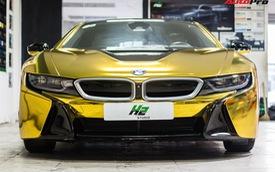 Dân chơi Sài Gòn mang BMW i8 đi đổi diện mạo phong cách nhà giàu Dubai