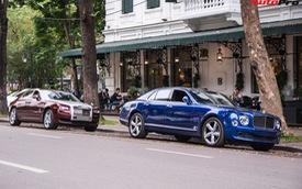 Cặp đôi 'kì phùng địch thủ' cùng nhau khoe dáng nhưng chiếc Bentley Mulsanne Speed lại có phần hơn nhờ chi tiết này