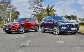 Giá từ hơn 1,1 tỷ đồng, Mazda CX-8 có gì cạnh tranh Hyundai Santa Fe khi mở bán trong thời gian tới?