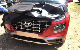 Hyundai Venue - Đàn em Kona lộ diện hình ảnh thực tế đầu tiên kèm thông số 'hot'