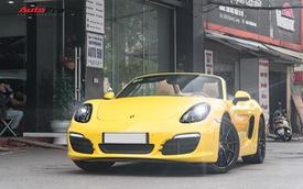 Porsche Boxster mới đi hơn 11.000 km rao bán giá 3,25 tỷ đồng tại Hà Nội