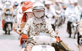 """Nỗi niềm chị em Sài Gòn những ngày nóng đổ lửa: Có ai muốn mặc nguyên """"combo ninja"""" ra đường như thế này đâu!"""