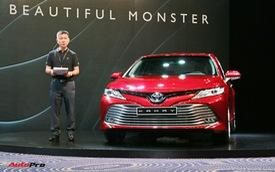 Toyota Camry 2019 chính thức ra mắt tại Việt Nam: Thiết kế lột xác, nhiều công nghệ hiện đại bậc nhất phân khúc