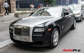Rolls-Royce Ghost của nhà chồng Tăng Thanh Hà tái xuất trên phố Sài Gòn
