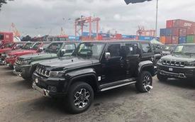 Lô SUV Trung Quốc BAIC BJ40L ồ ạt về cảng, giá gần 1 tỷ đồng