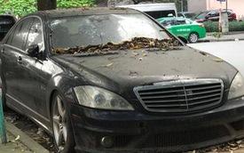 Xót xa hình ảnh 'xế tiền tỷ' Mercedes-AMG S63 bị bỏ hoang tại Hà Nội