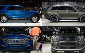 So găng bộ đôi SUV hot sắp về Việt Nam Kia Telluride vs Ford Explorer: Kẻ tám lạng người nửa cân
