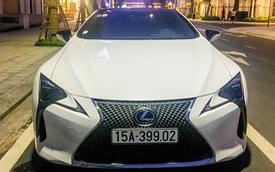 Hàng hiếm Lexus LC500h bí ẩn nhất Việt Nam được 'tóm gọn' ở Hải Phòng