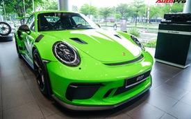 Cận cảnh 'hàng khủng' Porsche 911 GT3 RS màu xanh lá độc nhất Việt Nam, sở hữu một trang bị đắt hơn cả Mitsubishi Xpander