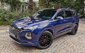 Người dùng so sánh Hyundai Santa Fe và Ford Everest máy dầu sau hơn 10.000 km sử dụng