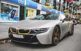 Chỉ nhờ thay đổi nhỏ này, chiếc BMW i8 của đại gia Sài Gòn đã trở nên đặc biệt như của dân chơi Dubai