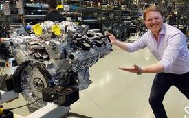 Một vòng nhà máy AMG - Nơi sản sinh những động cơ Mercedes mạnh nhất thế giới
