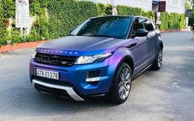 Range Rover Evoque 'full option' màu 'tắc kè hoa' đi 4 năm được bán ngang giá Mercedes-Benz GLC mới tinh