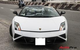 Xót xa khi thấy Lamborghini Gallardo Spyder của ông Đặng Lê Nguyên Vũ đi bảo dưỡng