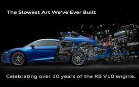 """Audi R8 """"tan biến"""" - Chiếc R8 siêu dị và chậm nhất tới từ Audi"""