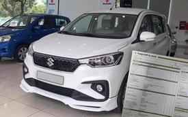 Lộ thông số chi tiết Suzuki Ertiga 2019 sắp bán tại Việt Nam: Trang bị trung bình, Xpander vẫn nắm lợi thế