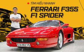 Diện kiến Ferrari F355 F1 Spider độc nhất Việt Nam: Dễ hiểu vì sao hơn 20 năm vẫn thu hút giới mộ xe