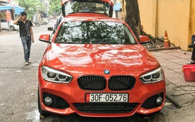 BMW 1-Series trở nên đặc biệt bởi được trang bị gói thể thao hiếm thấy tại Việt Nam