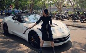 Nữ biker đình đám xứ Huế tậu Chevrolet Corvette C7 Stingray Convertible độc nhất Việt Nam
