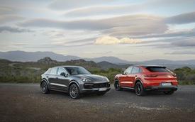 Porsche Cayenne Coupe sắp trang bị động cơ V8 giống Lamborghini Urus