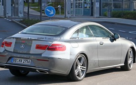 Không cần giấu diếm, Mercedes-Benz E-Class Coupe facelift khoe trọn thiết kế khi chạy thử