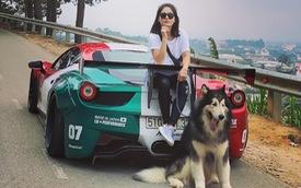 Hot girl 9x xuất hiện bên cạnh một loạt siêu xe, xe thể thao đình đám ở Việt Nam là ai?
