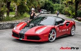 Ferrari 488 GTB 'hàng thửa' của đại gia Hà Nội bất ngờ xuất hiện ở chặng cuối Car Passion 2019