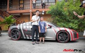 Khám phá chi tiết bộ decal 'độc' trên chiếc Audi R8 của Nguyễn Quốc Cường - người sáng tập hành trình siêu xe Car Passion