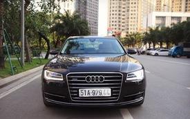 Audi A8 L 2015 giá gần 2,9 tỷ đồng, lựa chọn cho người chán 'Mẹc' S, 'Bim' 7