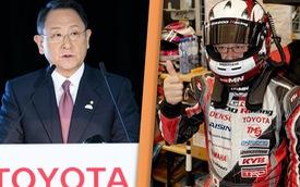 Chủ tịch Toyota lấy tên giả, đóng vai người thường để tham gia giải đua xe và cái kết