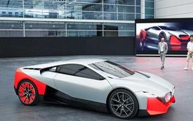BMW i8 đã có người kế nhiệm: Vision M Next, thiết kế siêu ấn tượng, 600 mã lực