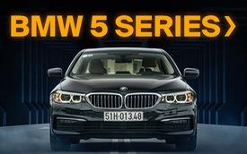 BMW 5-Series - Mẫu xe hoàn hảo dành cho doanh nhân hiện đại