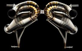 Ra mắt bộ ống xả siêu khủng bằng titan cho Lamborghini Aventador SVJ, giá cắt cổ