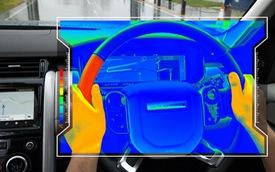 Jaguar Land Rover thêm cách cảnh báo người dùng: Cho vô lăng nóng lạnh tự động mỗi khi tới các nút giao thông