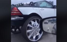 """Mercedes-Benz SLK độ thu hút hàng triệu lượt view, hàng ngàn bình luận """"vì sao"""""""