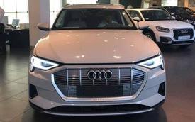Audi e-tron đầu tiên về Việt Nam: Dùng động cơ điện, bản tiêu chuẩn nên không có gương camera