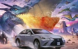 Xem Lexus xuất hiện trong truyện tranh dưới bàn tay tài năng của các họa sĩ toàn cầu