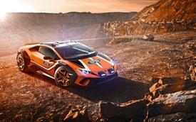 Lamborghini Huracan Sterrato Concept: Khi bạn đam mê off-road nhưng vẫn muốn cầm lái siêu xe