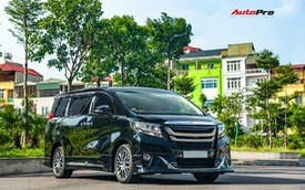 Chạy 8.000 km, Toyota Alphard độ khủng bán lại chỉ thua giá mua mới 38 triệu đồng