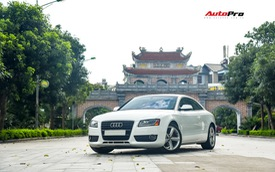 Giữ dáng sau 9 năm tuổi nhưng Audi A5 Coupe chỉ rẻ như Toyota Altis
