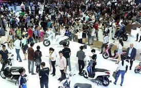 Thị trường xe máy giảm nhiệt, Honda, Yamaha, Piaggio, Suzuki và SYM sụt giảm doanh số