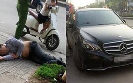 Bỏ xe Mercedes-Benz lên vỉa hè nằm ngủ vật vã cả đêm, người đàn ông khiến ai cũng phải ngoái nhìn