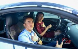 """Đàm Thu Trang: """"Anh Cường từng khen em lái xe tốt"""""""