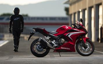 Honda CBR500R lần đầu được giới thiệu tại Việt Nam, giá gần 190 triệu đồng