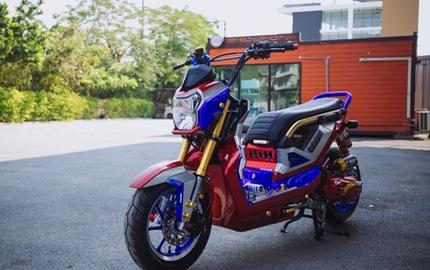Mãn nhãn với Honda Zoomer-X độ theo phong cách Transformers