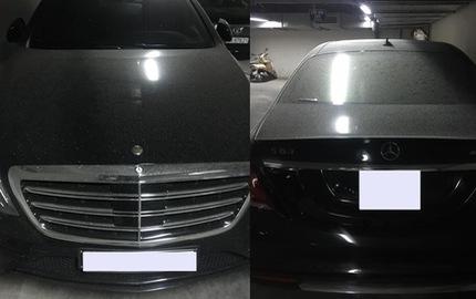 """Xót xa Mercedes-Benz S63 AMG đời mới gần 13 tỷ Đồng bị """"hắt hủi"""" tại Hà Nội"""