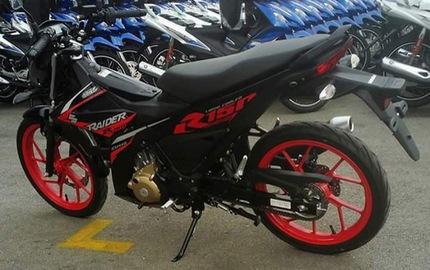 Rộ tin đồn Suzuki Raider 150 FI đen nhám ra mắt Việt Nam vào ngày mai