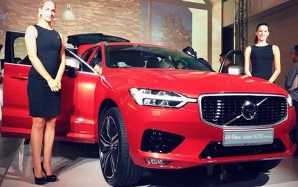 Crossover cao cấp Volvo XC60 2018 cập bến Đông Nam Á với giá không rẻ