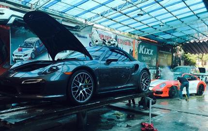 Cận cảnh Porsche 911 Turbo S mui trần 2016 đầu tiên tại Việt Nam